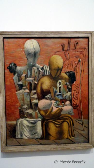 La Famille du peintre - Giorgio de Chirico