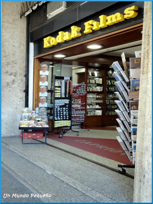tienda recuerdos Vaticano