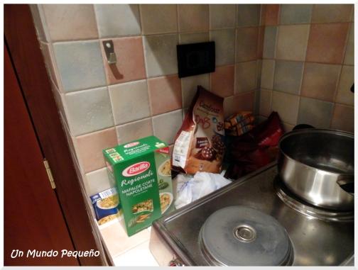 cocina apartamento roma