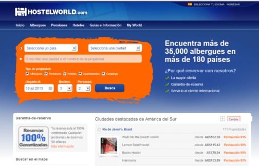 reservar en hostelworld.com