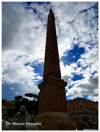 obelisco piazza del popolo roma