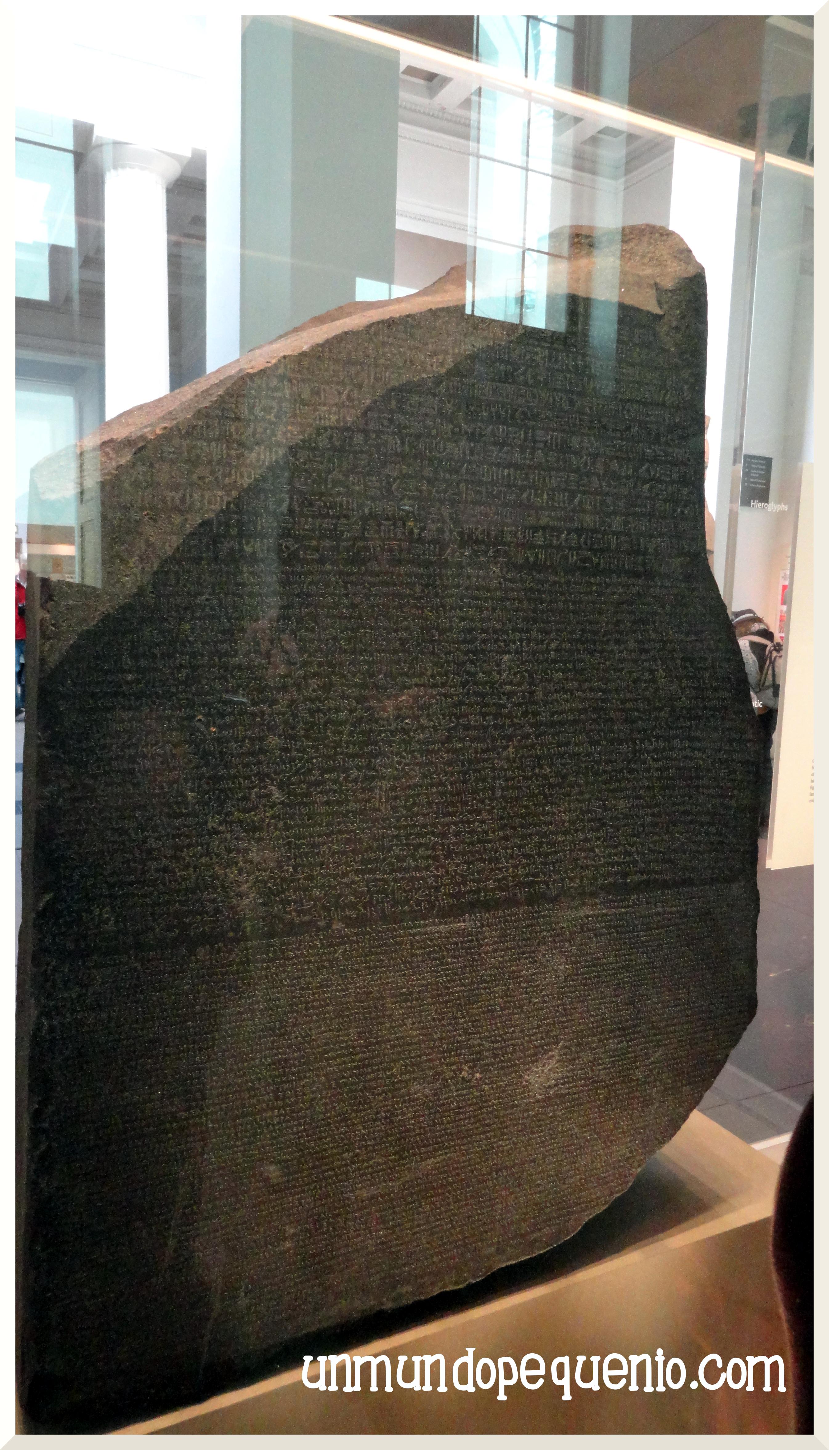 Rosetta Stone British Museum