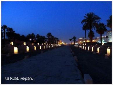Templo de Luxor Avenida de las Esfinges