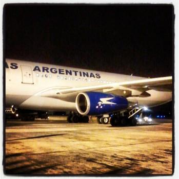 Avión Aerolineas Argentinas