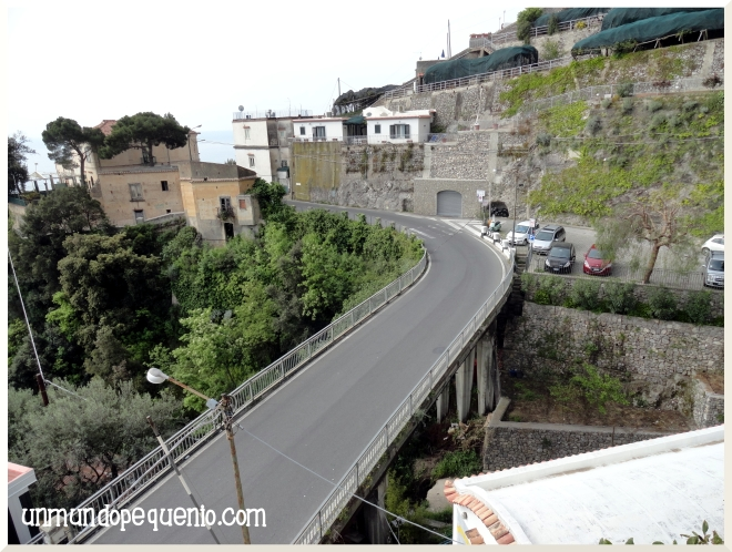 Amalfi Al Pesce D'Oro estacionamiento