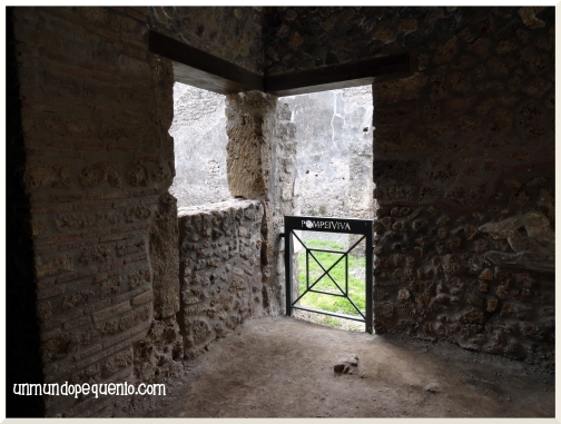 casa pompeya ruinas